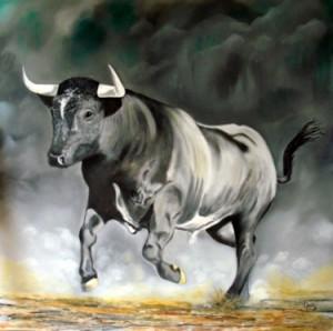 Une toile magistrale de Sylvestre Aznar