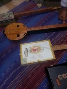 Instrument à cordes de Pierre Lesire