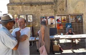 Jacques Chamayou, Marie-Paule Mur devant ses toiles