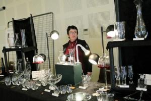 Très belles réalisations de Marion Puig, graveuse sur verre