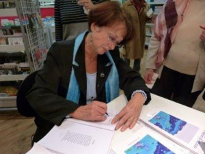 Sylviane Blineau - poète de talent lauréate de nombreux grands prix -  en dédicace