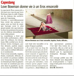 article love capestang
