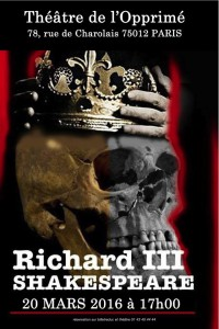 love affiche richard III