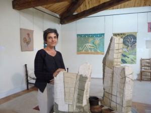 Tatiana Rosenblat, sculpteur capestanaise
